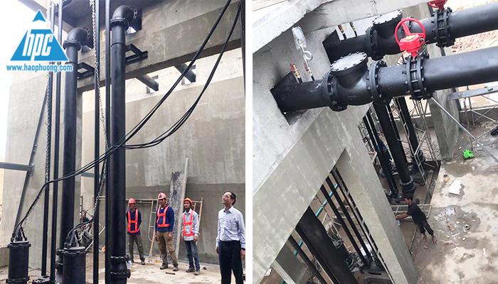 Hình ảnh dự án trạm bơm nước thải 1