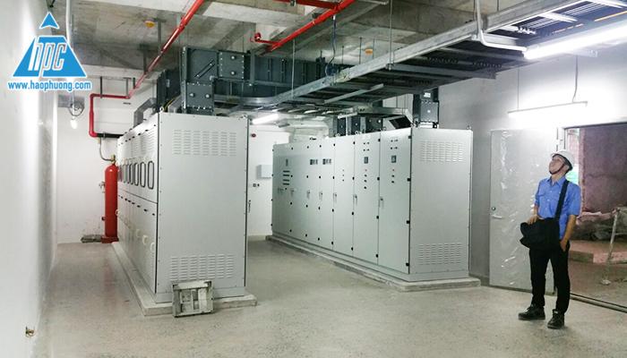 Hoàn thành lắp đặt toàn bộ tủ điện hạ thế 2