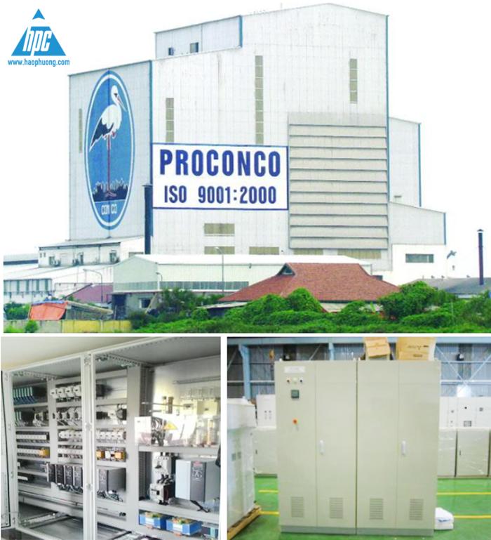 Nhà máy thức ăn thủy sản Proconco Cần Thơ