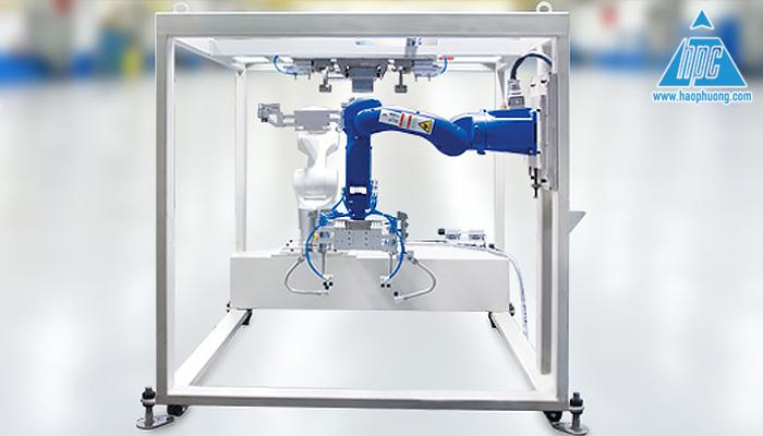 Robot đóng mở bao