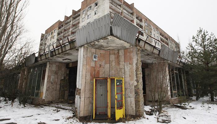 Một góc Chernobyl bị bỏ hoang