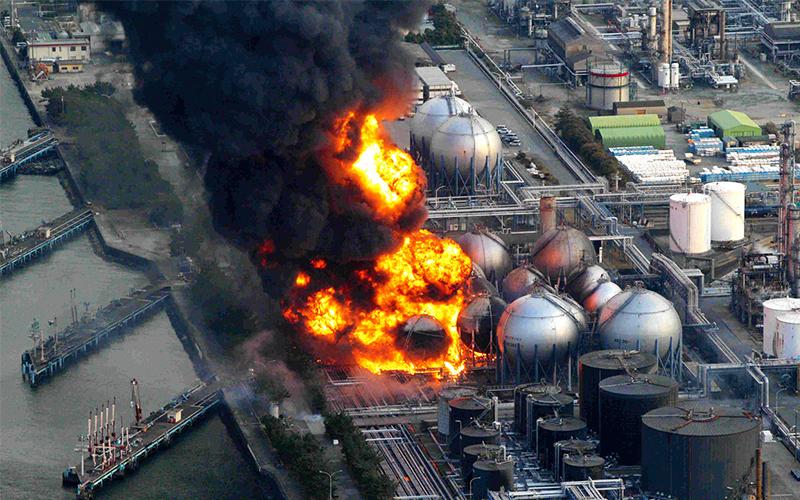 Ảnh bìa thảm họa hạt nhân Fukushima