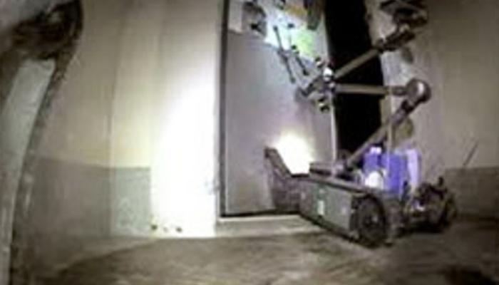 Hình ảnh robot thăm dò ghi lại bên trong nhà máy điện hạt nhân Fukushima
