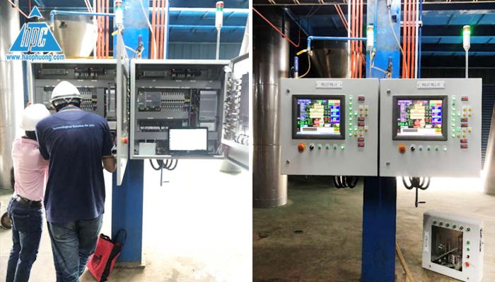 Test và Commissioning smart pellet mill line 9 và 10
