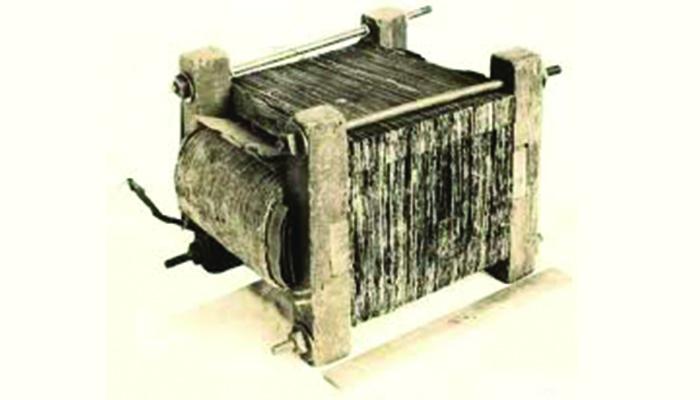Máy biến áp đầu tiên của Stanleyở Great Barrington
