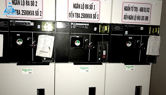 Tủ RMU của trạm biến áp