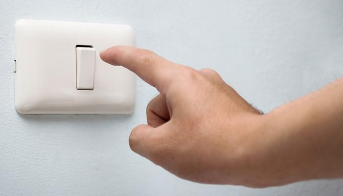 Tắt đèn khi không sử dụng
