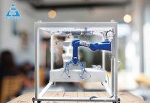 Giải pháp robot đóng bao tự động