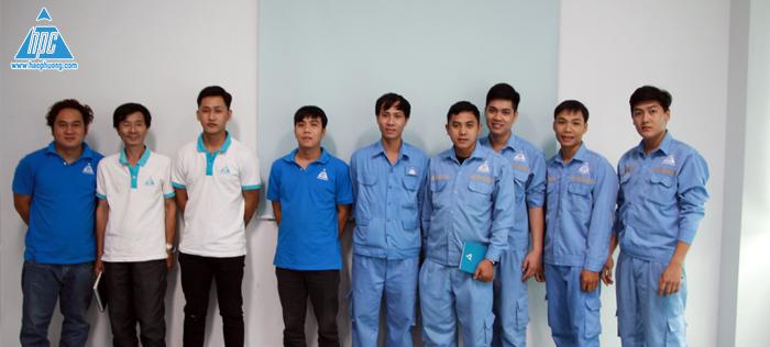 Nhiều phòng ban của Hạo Phương tham gia buổi huấn luyện
