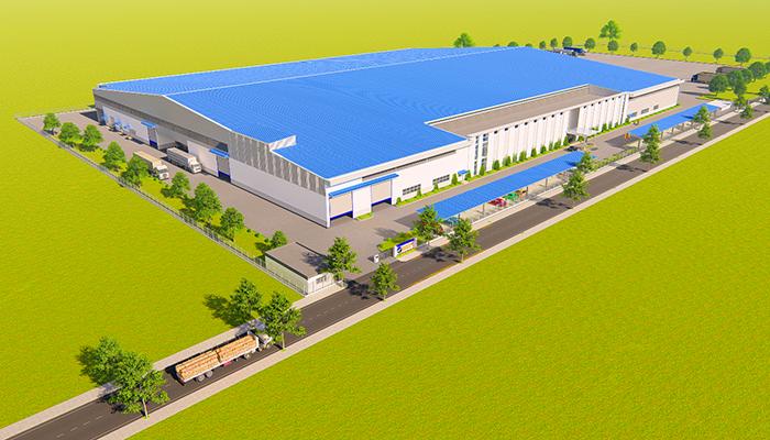 Nhà máy Oji Packaging Cambodia