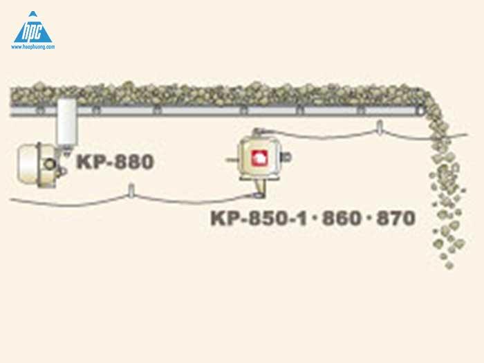 Vị trí lắp các thiết bị ngoại vi dừng khẩn cấp cho băng tải linh hoạt