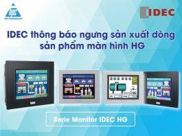 Ảnh bìa thông báo ngưng sx màn hình IDEC HG
