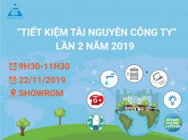 Hạo Phương tổ chức huấn luyện tiết kiệm tài nguyên công ty