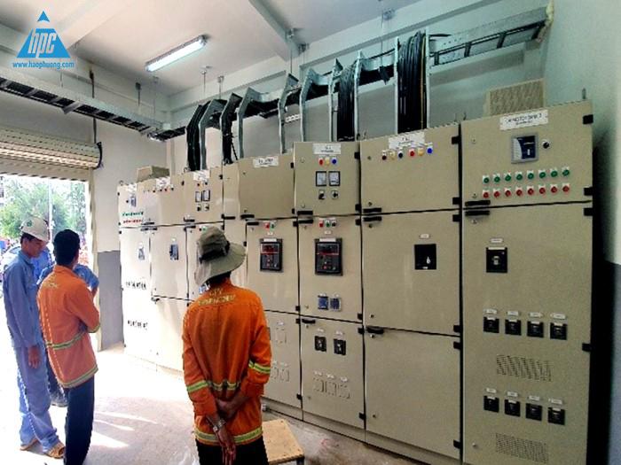 Test tủ MSB và máy phát điện 2