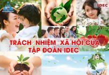 Trách nhiệm xã hội của Tập đoàn IDEC