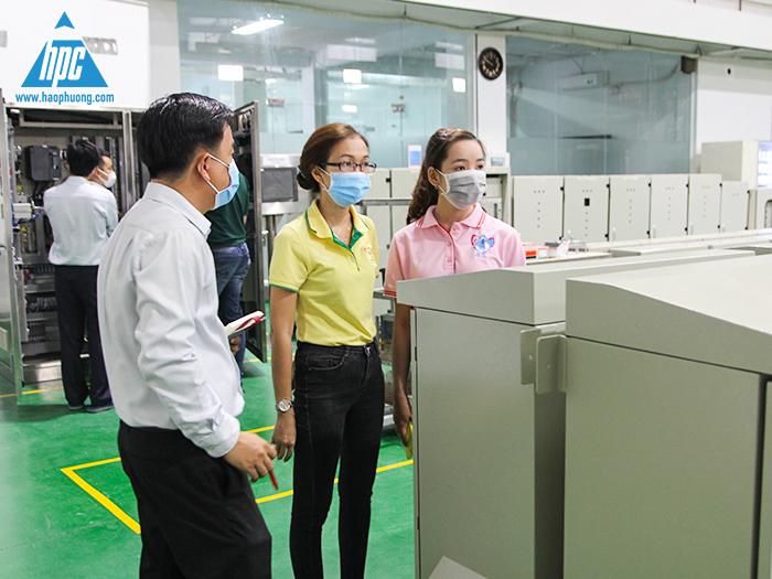 C.P Việt Nam đến tham quan Hạo Phương