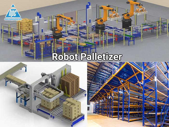 Đầu tư vào Robot palletizer