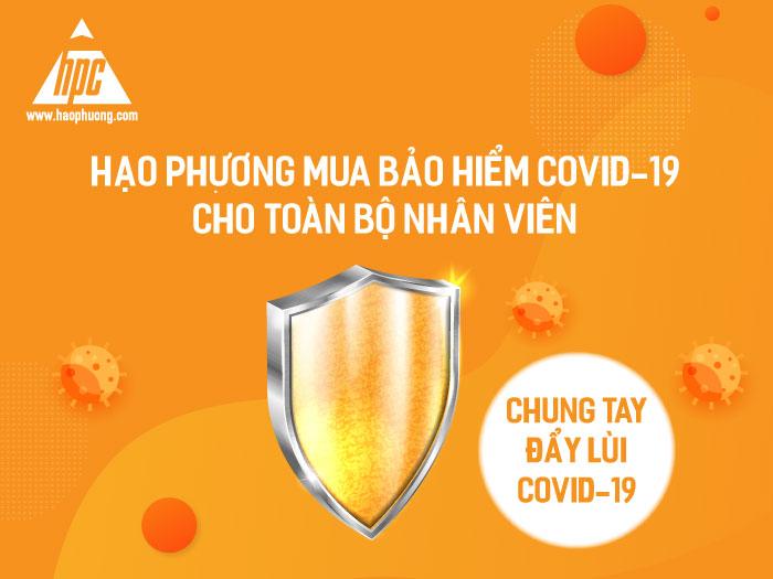 Hạo Phương mua bảo hiểm Covid-19 cho nhân viên