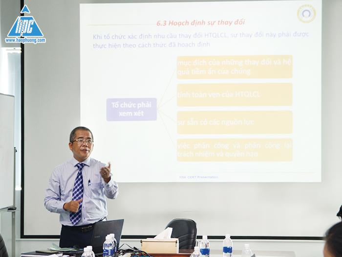 Hạo Phương tổ chức đào tạo ISO9001:2015