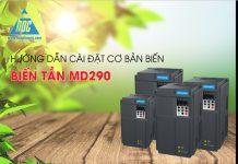 Hướng dẫn cài đặt cơ bản biến tần Inovance MD290