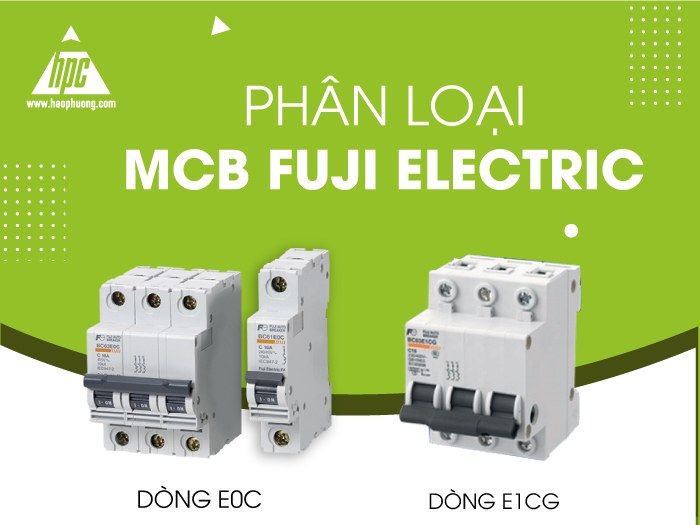 Phân loại MCB Fuji Electric