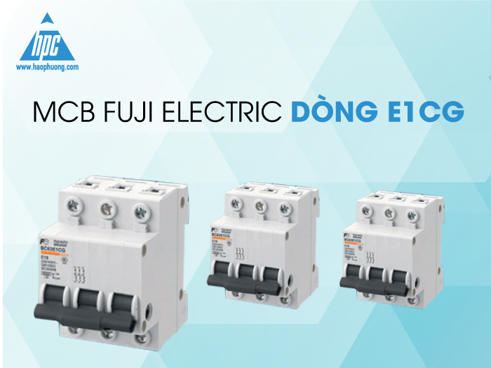 MCB Fuji Electric dòng E1CG