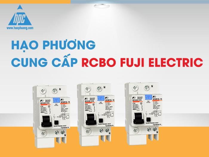 Hạo Phương cung cấp RCBO Fuji Electric