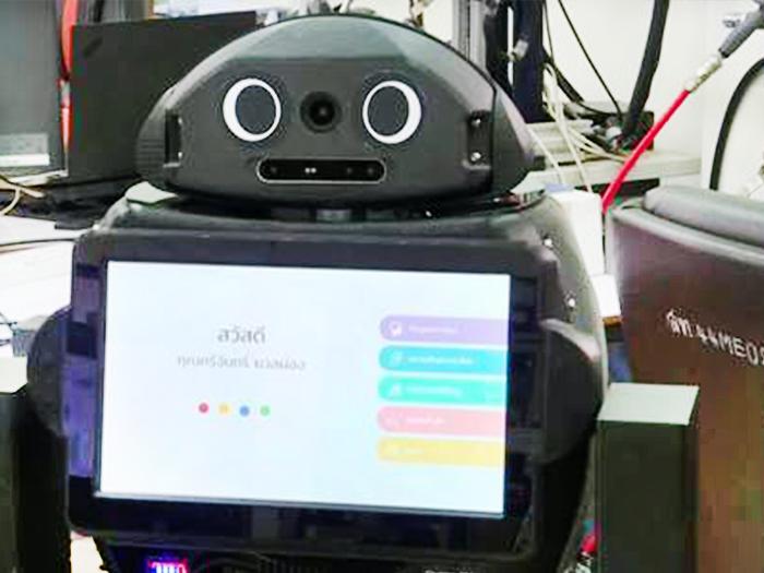 Thái Lan triển khai robot ninja chiến đấu với Covid-19