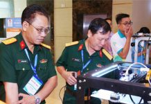Robot khử khuẩn phòng cách ly sẽ được thử nghiệm tại Tp.HCM