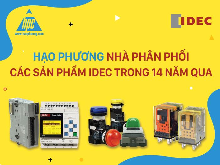 Hạo phương - nhà phân phối các sản phẩm IDEC trong 14 năm qua