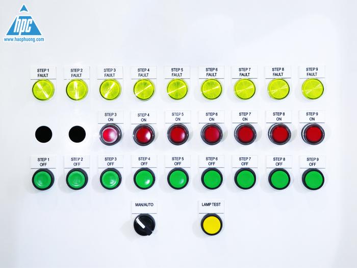 Đèn báo pha cho tủ điện