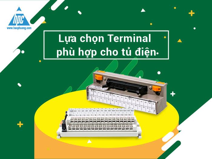 Lựa chọn Terminal phù hợp cho tủ điện của bạn