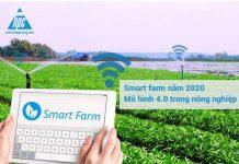 Smart farm năm 2020 – Mô hình 4.0 trong nông nghiệp