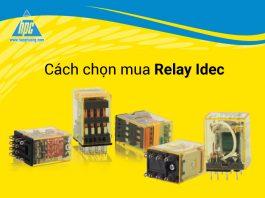 Cách chọn mua Relay Idec