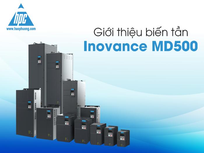 Giới thiệu biến tần Inovance MD500