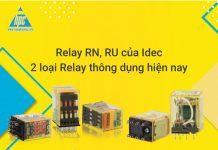 Hai loại relay thông dụng của Idec