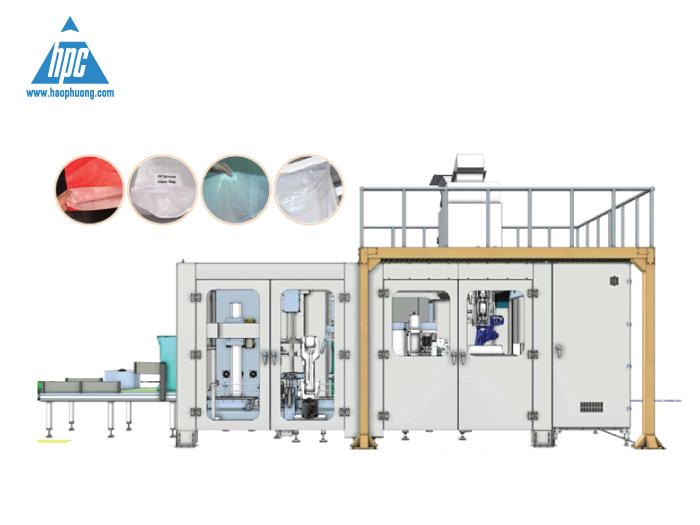 Hệ thống Robot đóng bao (OMBA) do Hạo Phương cung cấp