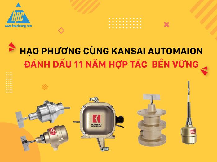 Hạo Phương cùng Kansai Automation đánh dấu 11 năm hợp tác bền vững