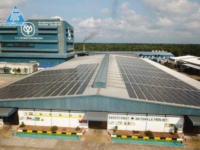 Hạo Phương hoàn thành lắp đặt solar cho C.P Việt Nam tại Bến Tre