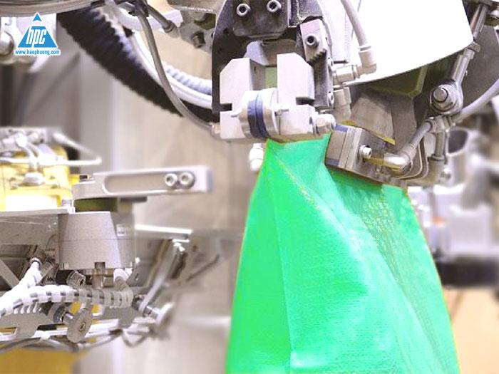 Hệ thống Robot đóng bao 2 lớp tự động