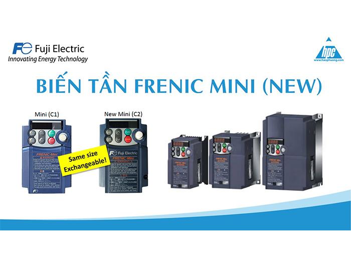 Thế hệ biến tần Frenic Mini mới - Sự lựa chọn tiết kiệm tối ưu chi phí nhân công