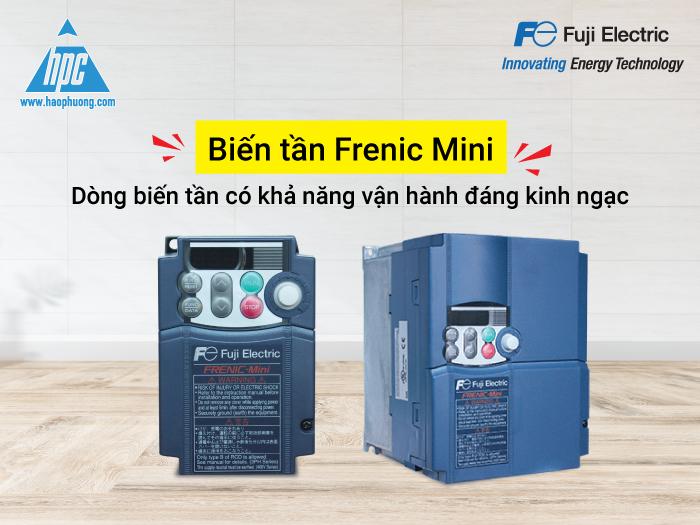 Biến tần Frenic Mini: Dòng biến tần có khả năng vận hành đáng kinh ngạc