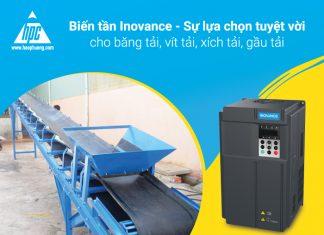 Biến tần Inovance dùng cho băng tải, vít tải, xích tải, gầu tải