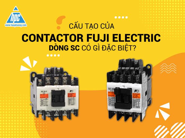 Cấu tạo Contactor SC Fuji Electric