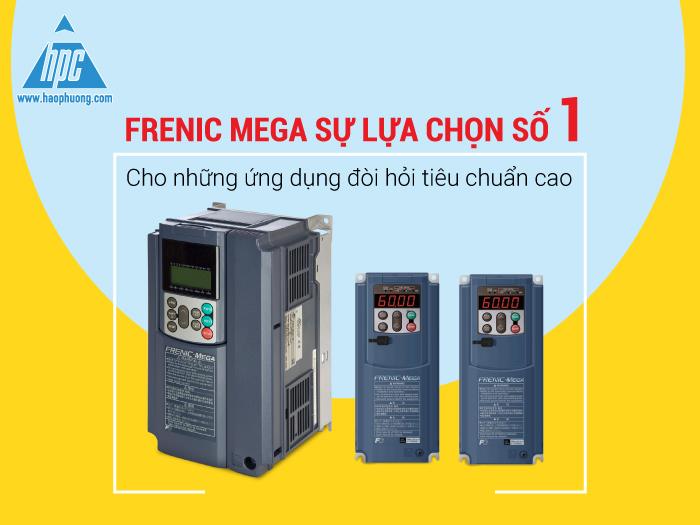 Frenic Mega sự lựa chọn số 1 cho những ứng dụng đòi hỏi tiêu chuẩn cao