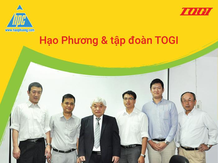 Chặng đường hợp tác giữa Hạo Phương và Tập đoàn TOGI
