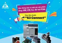 """Idec thông báo ra mắt: Các sản phẩm dòng HW, CW, SJ, SU và FC6A theo tiêu chuẩn """"S3 Connect"""""""