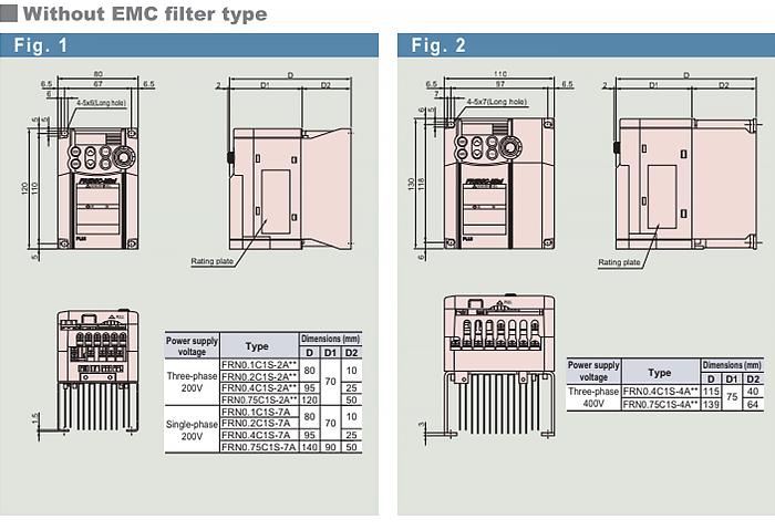Biến tần Frenic Mini dòng biến tần vận hành đơn giản trong thiết kế nhỏ gọn