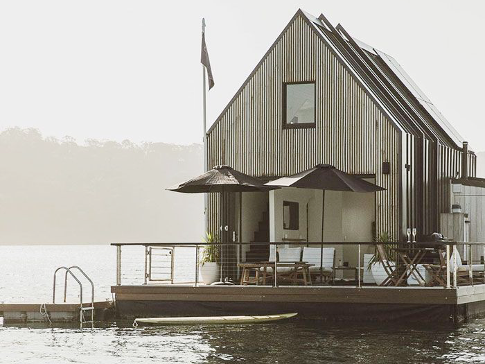 Ngôi nhà năng lượng mặt trời trên nước