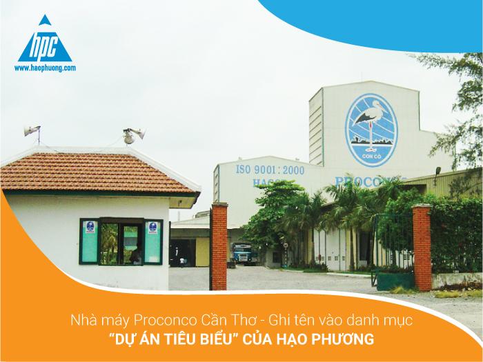 """Nhà máy Proconco Cần Thơ – Ghi tên vào danh mục """"Dự án tiêu biểu"""" của Hạo Phương"""